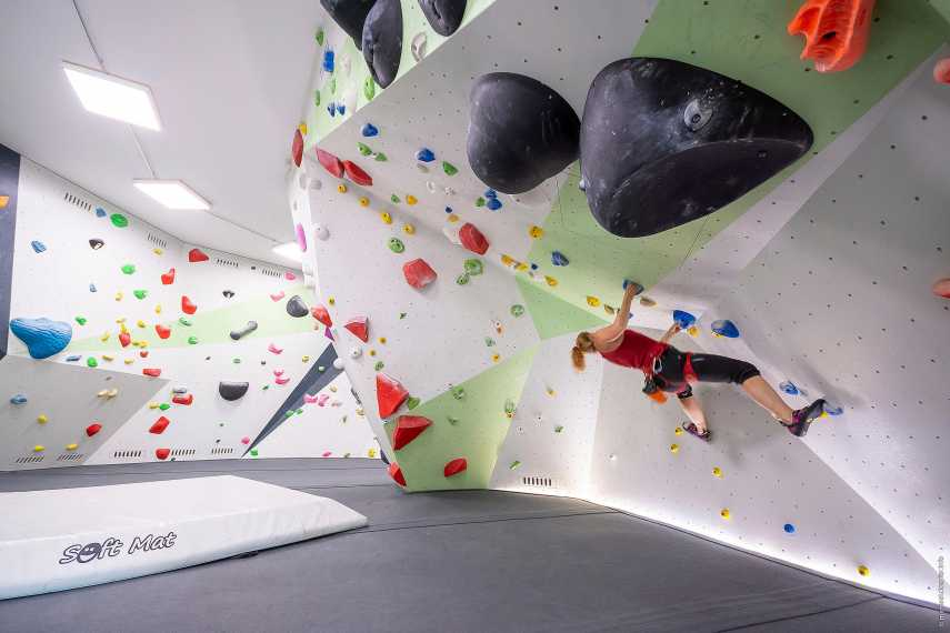 Unterer Boulderraum