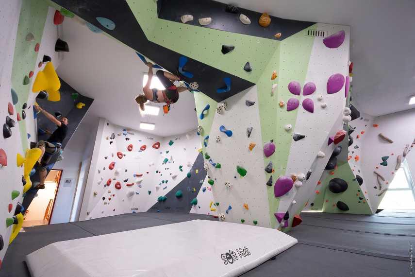Kletterhalle Radolfzell, Unterer Boulderraum